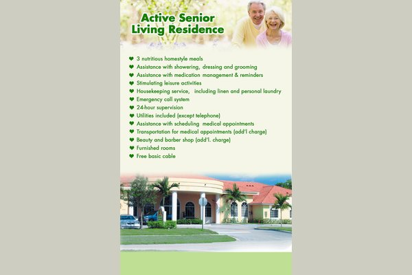 Active Senior Living Residence  71275