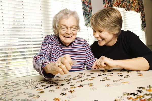 Encore Memory Care Day Stay Stock Photo