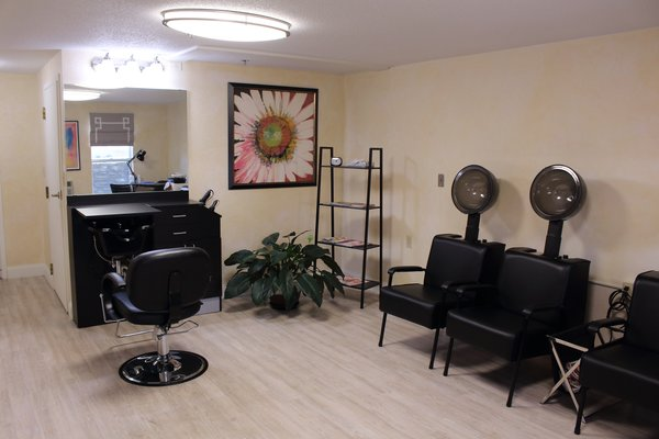 One of our on site hair salons - The Elms Retirement Residence - Westerly RI